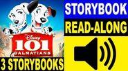 3 101 Dalmatians Read Along Story books Read Aloud Books for Kids 3 101 Dalmatians Story books