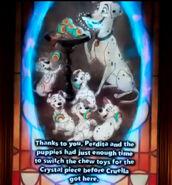 Perdita Puppies Magic Crystal