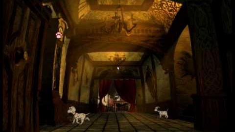101 Dalmatians Escape from DeVil Manor - PC DOS Windows intro & gameplay