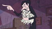 Lars standing up to Cruella