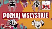 🎶 🏠 Ile psów w domu jest? Ulica Dalmatyńczyków 101 Disney Channel Polska-0