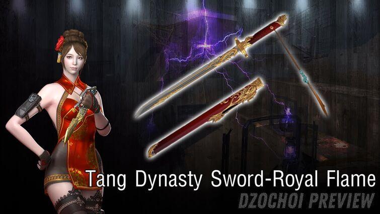Crossfire Vietnam: Tang Dynasty Sword-Royal Flame - CFVN | Đột Kích