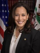 Senator Harris official senate portrait