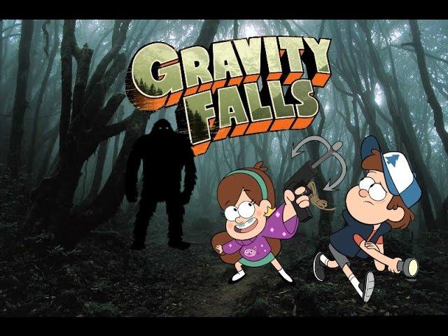 Gravity falls S:2 E:9 Bigfoot attacks