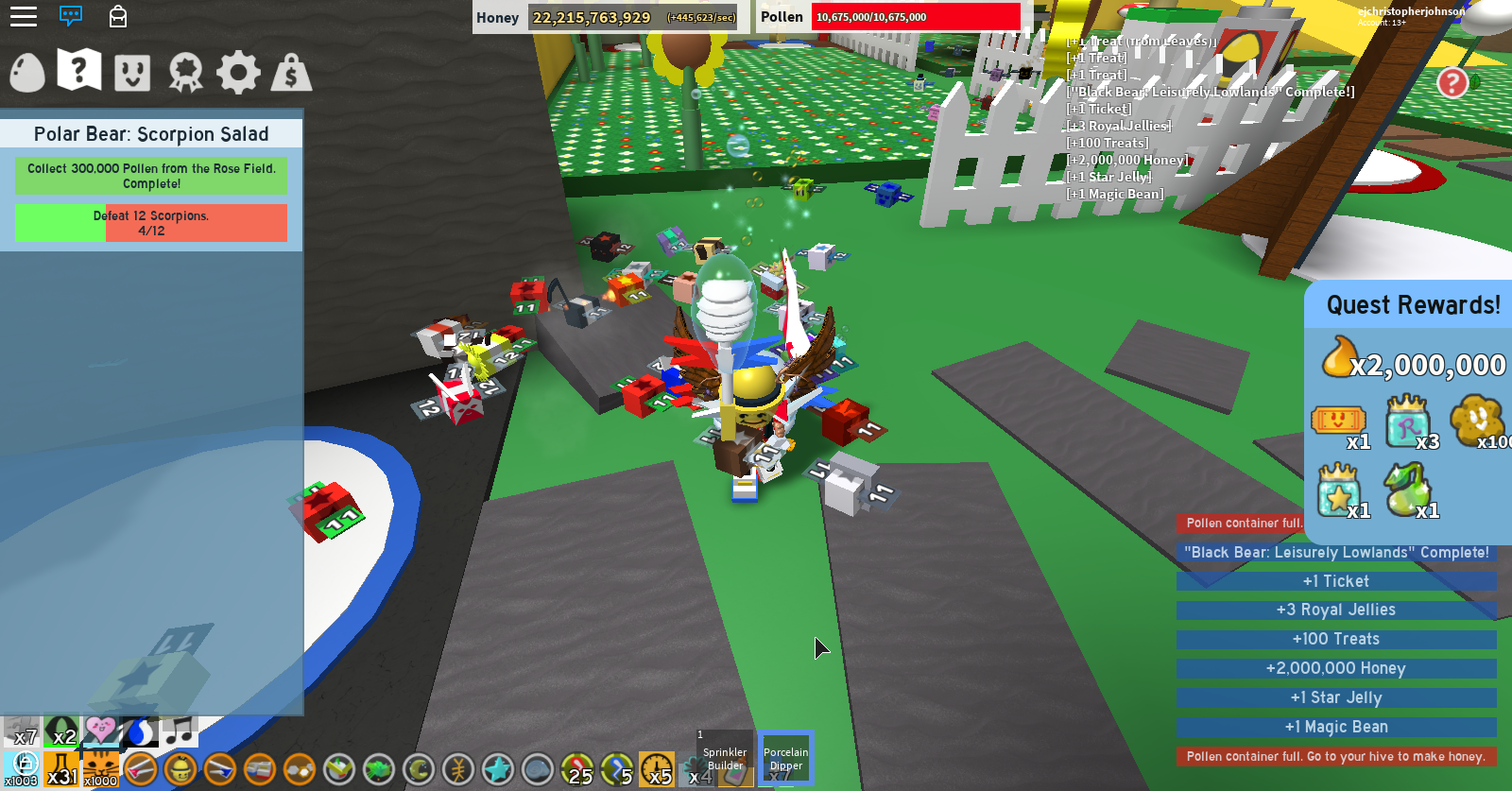 Roblox Bee Swarm Simulator Star Jelly Locations