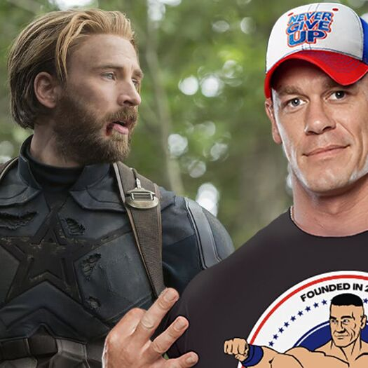 John Cena on Playing Captain America: 'I'll Totally Do It'