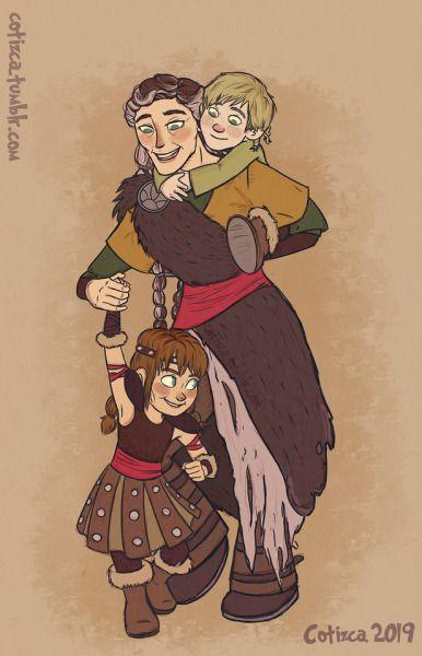 Con la abuela valka