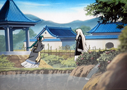 Jokaku running to Keiki