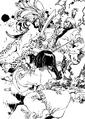 Sanshi attacking Goson
