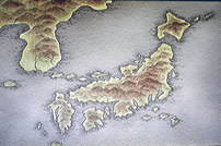 Hourai Japan map
