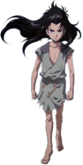 Enki with Black hair