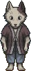 Game sprite canine