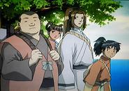 Part of the Shusei troupe