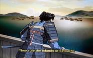 Komatsu looking out at sea