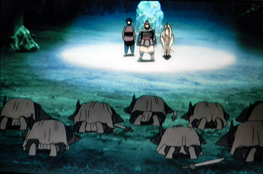 Kei army bowing to Youko.png