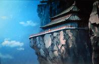 Gen-ei Palace on cliff