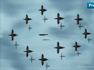 Ep 26 air calvary flying to kyou