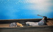 Enki bowing to Shoryu