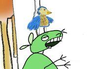 12 oz mouse robotic bird