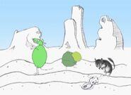 Mouse & Friends walking through the Desert