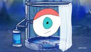 Eye in the shower