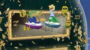 Peanut and Joe break out of jail's glass window on jet-skis