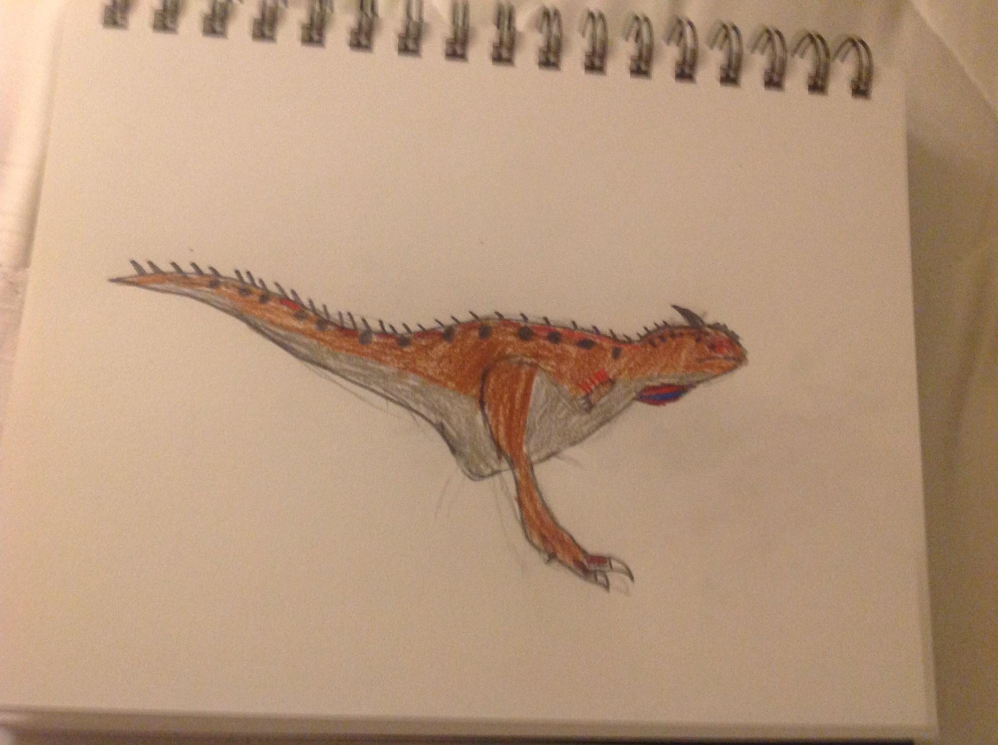 Ozraptor Reconstruction