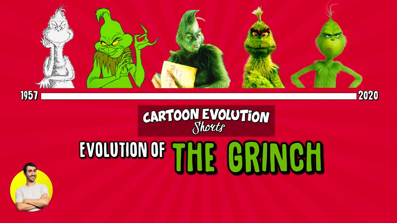Evolution of THE GRINCH - 63 Years Explained | CARTOON EVOLUTION