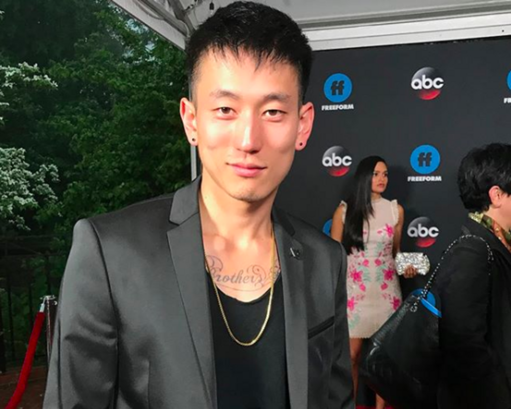 Jake Choi at the ABC Upfronts for Single Parents