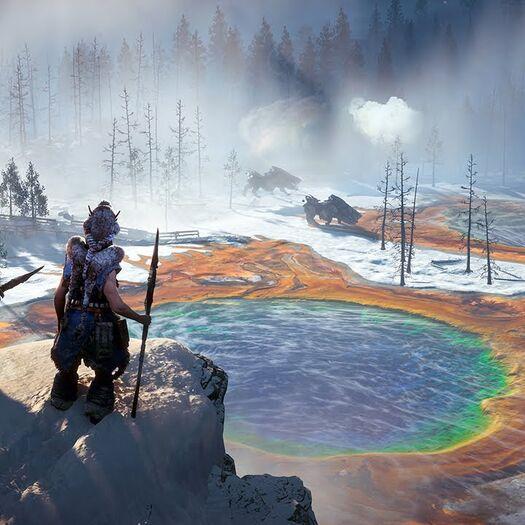 Horizon Zero Dawn: The Frozen Wilds DLC - PS4 Trailer | E3 2017