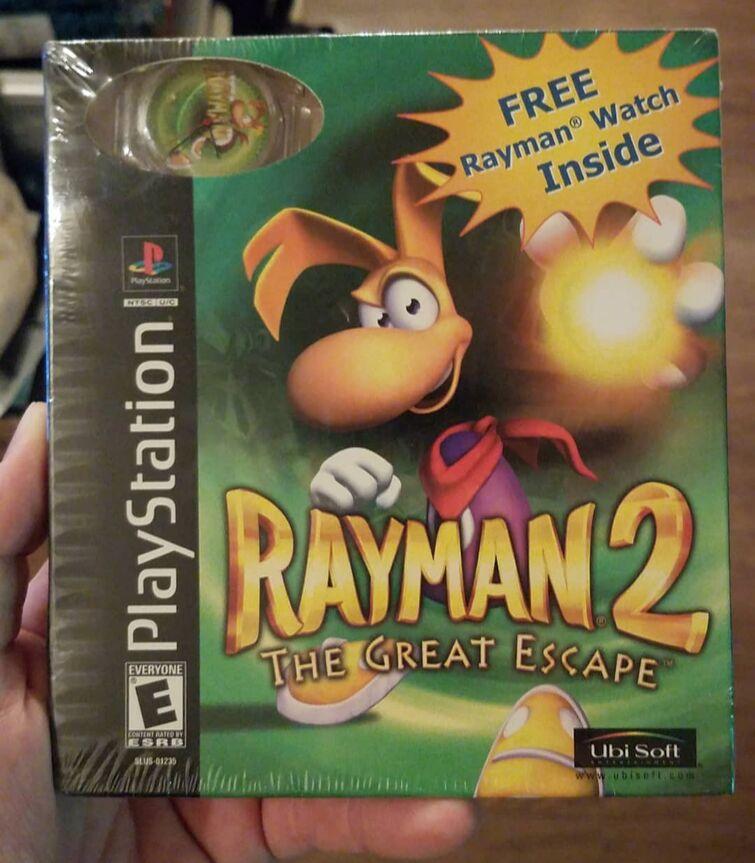A rare Rayman game...