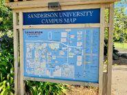 Sanderson University Campus Map