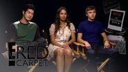 13 Reasons Why Cast Answer Big Questions - E! Live from the Red Carpet