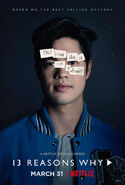 13 Reasons Why Character Poster Zach Dempsey
