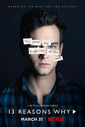 13 Reasons Why Character Poster Justin Foley