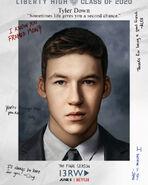 Тайлер - постер сезон 4
