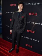 13 Reasons Why Red Carpet Ross Butler