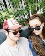 Ross Butler and Katherine Langford