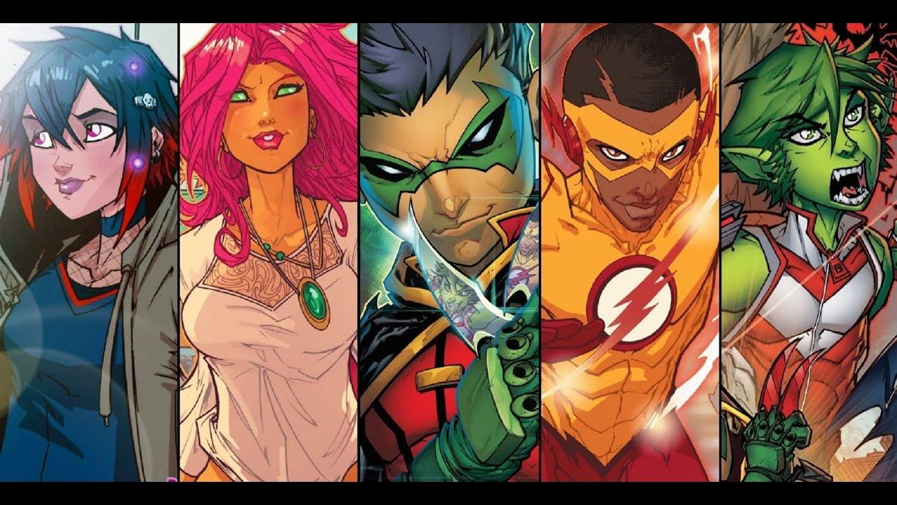 Superhero Game Ideas #10: Teen Titans