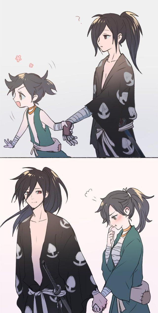 Who else ship Hyakkimaru with Dororo? 😍😍😍
