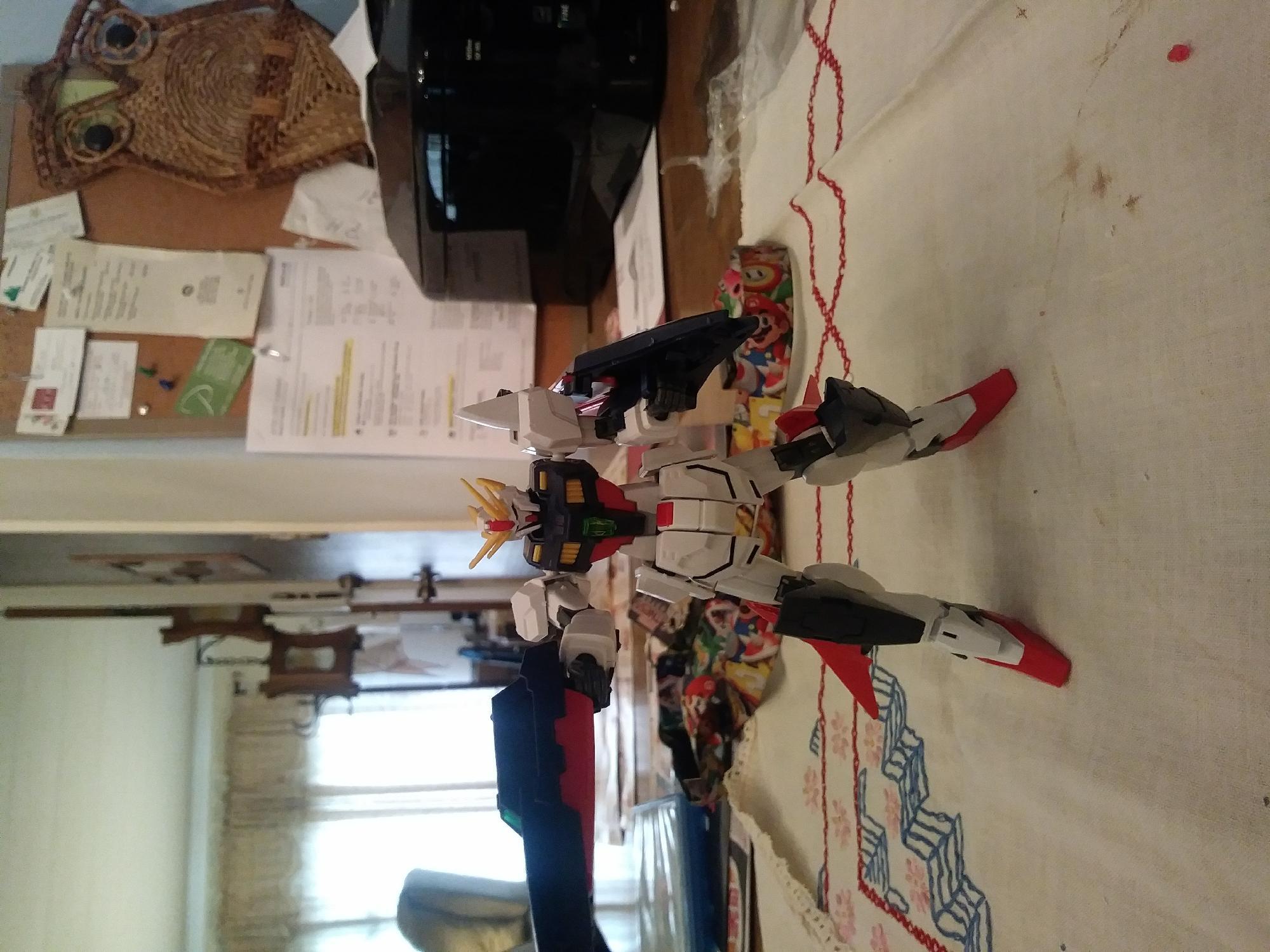 My HG Gundam shining break