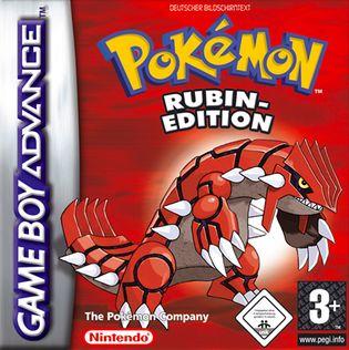Spielt jemand noch pokemon rubin?