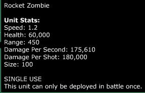 rocket zombie