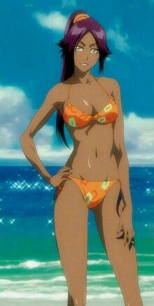 Yoruichi Shihoin Bikini.jpg