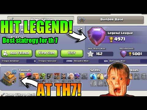 Th 7 best attack statregy ! Best pushing statregy