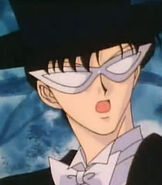 Tuxedo Mask in Sailor Moon Super S the Movie