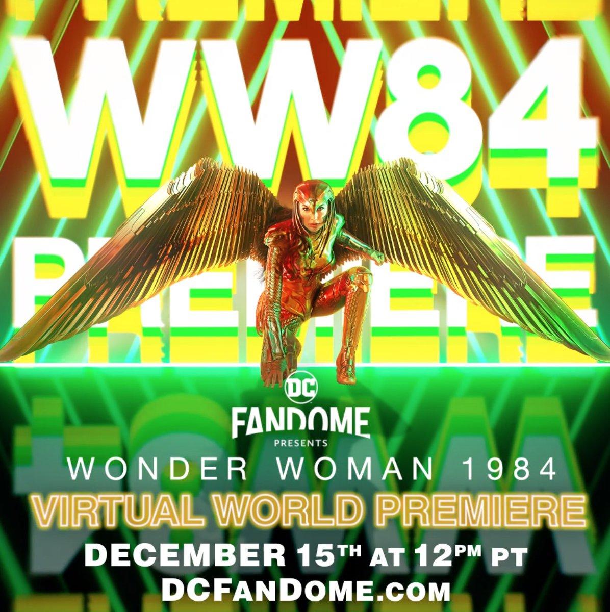 Wonder Woman 1984 on Twitter