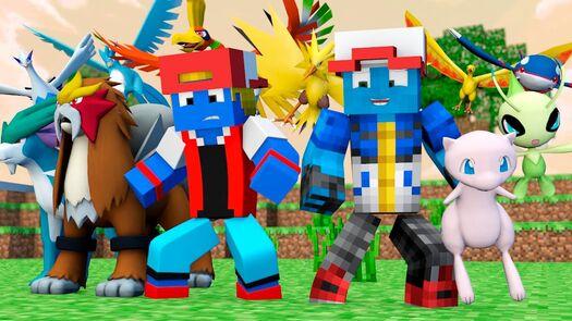 Minecraft: LENDARIOS ‹ POKELENDAS › #01