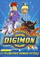 Digimon adventures (1701Movies Human Style)