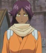 Yoruichi Shihoin in Bleach The DiamondDust Rebellion